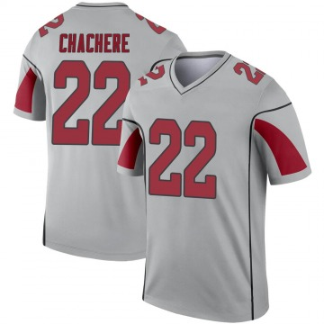 Men's Andre Chachere Arizona Cardinals Nike Legend Inverted Silver Jersey