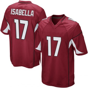 Youth Andy Isabella Arizona Cardinals Nike Game Cardinal Team Color Jersey
