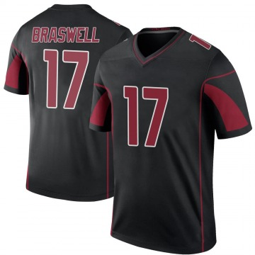Youth Jermiah Braswell Arizona Cardinals Nike Legend Color Rush Jersey - Black